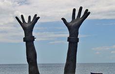 mãos que se libertam