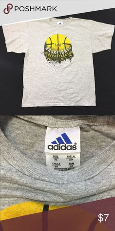Adidas Basketball T-Shirt Pre owned in good condition size XL Adidas Shirts & Tops Tees - Short Sleeve