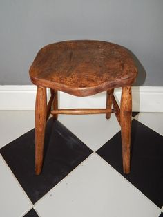 ANTIQUE OAK? STOOL Stools, Antiques, Furniture, Ebay, Home Decor, Homemade Home Decor, Antiquities, Home Furnishings, Antique
