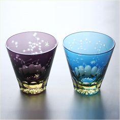 江戸硝子 ロックグラス ほしめぐり画像