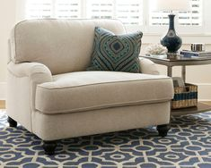 Harahan Oversized Chair by Ashley HomeStore, Linen Living Room Chairs, Ashley Furniture, Chair And A Half, Comfy Chairs, Cheap Furniture, Furniture, Home Furniture, Living Room Furniture, Patio Chair Cushions
