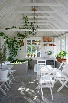 Every thought about how to house those extra items and de-clutter the garden? Building a shed is a popular solution for creating storage space outside the house. Whether you are thinking about having a go and building a shed yourself Greenhouse Shed, Greenhouse Gardening, Cheap Greenhouse, Indoor Greenhouse, Gardening Tools, Indoor Garden, Pallet Greenhouse, Homemade Greenhouse, Indoor Balcony