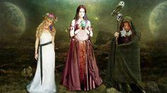 O simbolismo da deusa tríplice