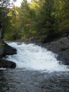 WaterFalls of the Lake Michigan Watershed......Lasalle Falls MI