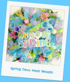 #decomeshwreath New Spring 2014