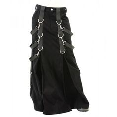 Aderlass Gothic Demin Belt Skirt