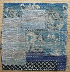 Zokin vintage Japanese dust rag cotton indigodyed by FabricLife