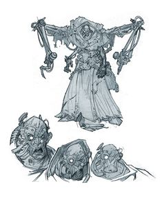 Character Poses, Character Costumes, Character Design References, Character Concept, Character Art, Creature Concept Art, Robot Concept Art, Warhammer 40000, Fantasy Illustration