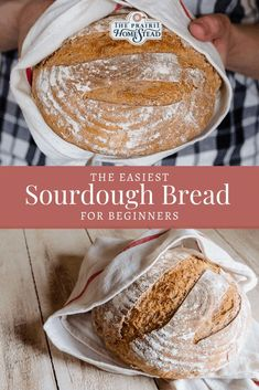 If you're a sourdough bread beginner, this is the recipe you need! With four simple ingredients and BASIC technique, kick sourdough frustration to the curb! Sourdough Starter Discard Recipe, Bread Starter, Sourdough Recipes, Sourdough Artisan Bread Recipe, Sour Dough Starter, Overnight Sourdough Bread Recipe, Sourdough Baguette Recipe, Making Sourdough Bread, Artisan Bread Recipes