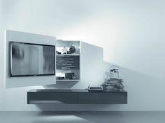 Porta tv orientabile, porta-tv girevole by Fimar