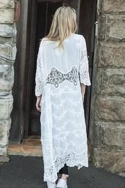 Buy Woodstock Long Lace Cape in White Online Bohemian Style, Boho, Crochet Cape, Barefoot Blonde, Indian Summer, Woodstock, Capes, Fashion Online, Stuff To Buy