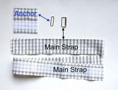 ikat bag: Make A Bag Chapter 3B: Closed Ended Straps