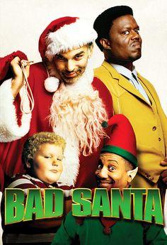 Bad Santa, filmes natalinos, Papai Noel, Billy Bob Thornton, vigarista, elfo, anão, roubo