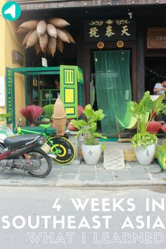 4 weeks in Southeast Asia - What I Learned /// This Savvi blog post is featured from Ally's blog SpreadSomeSun. See what she has learned from 4 weeks on the road in Asia- accommodation, food, and general travel tips- Thailand, Cambodia, Vietnam