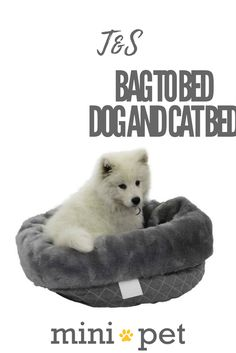 The perfect travel bag that transforms into a pet bed. Simply pop all your pets favourite toys and snacks in the bed then once you get to your destination fold the bag out and you have a soft pet bed. Makes travelling with your pet a breeze! The bag also has handles on each size for easy carrying.