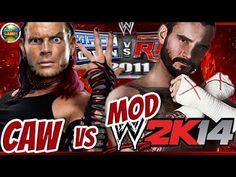 WWE CM Punk vs Jeff Hardy [SvR 2011] MOD 2K14 #PS2