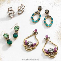 Shop Silpada's new K&R earrings in our new holiday catalog! If you do not yet have a Silpada Rep you can view the catalog on my site mysilpada.com/lisa.wilton