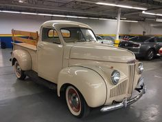 Vintage Trucks Muscle 1947 Studebaker Pickup - Bring a Trailer Auctions is the best place to buy and sell vintage and classic vehicles - Porsche, BMW, Land Rover, and more. Ford Classic Cars, Classic Chevy Trucks, Classic Cars Online, Chevy Classic, Classic Auto, Antique Trucks, Vintage Trucks, Lifted Trucks, Old Trucks