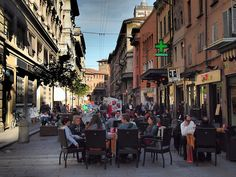 """""""Cafe culture is very prominent in Bologna – no complaints from me"""" - """"Bologna in a Blur"""" by @legalnomads"""