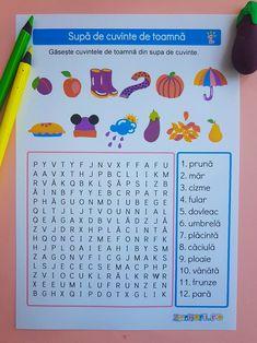 supa de cuvinte de toamna | materiale pentru scoala | materiale profesori | activitati copii