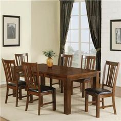 Victor 7 Pc Dining Set |