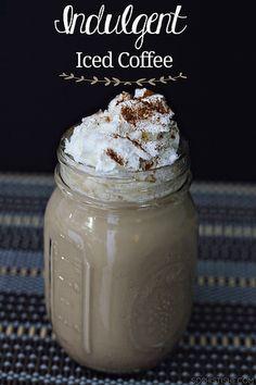 indulgent iced coffee by Sheena Tatum, via Flickr