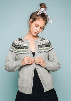 Nordkapp Dark Winter, Cardigans, Sweaters, Knit Fashion, Knit Cardigan, Knit Crochet, Pullover, Knitting, Model