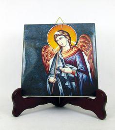Guarda questo articolo nel mio negozio Etsy https://www.etsy.com/it/listing/267262357/saint-raphael-the-archangel-ceramic-tile