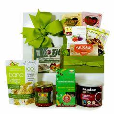 Organic chocolate gift basket healthy gourmet gift baskets healthy gourmet gifts sweet and savoury vegan negle Choice Image