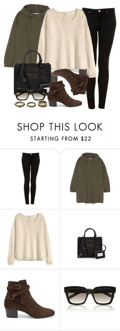 """Style #9790"" by vany-alvarado ❤ liked on Polyvore featuring Topshop, Yves Saint Laurent, H&M, Balenciaga, Forever 21, women's clothing, women, female, woman and misses"