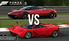 GT6 vs Forza 5 Photomode Comparison