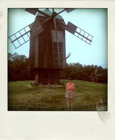 Windmills, Kyiv, Ukraine.