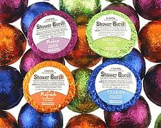 Aromatherapy Shower Burst Blends make wonderful little holiday gifts!