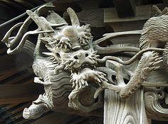 堂宮彫刻龍