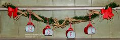 Stitchin' n Stampin' on Paper: Stampin' Addict's Winter Holiday Blog Hop Curvy Keepsake Box Country Style Garland