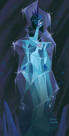 Claire Keane — My early visual development for Frozen. In this...