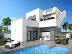 New build villas on the costa blanca, country property finders, country homes for sale in Catral, Spain, currency fx Property Finder, New Property, Alicante, Villas, Country Homes For Sale, Motorized Blinds, New Builds, Luxury Villa, Beautiful Gardens