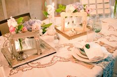 eclectic wedding decor images - Google Search