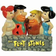 The Flintstones Salt and pepper Shaker