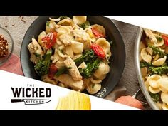 VEGAN 1-POT MEAL! Pasta & Broccoli with Butter Sauce | The Wicked Kitchen | S2 • E15 - YouTube