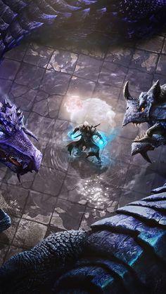 Dragons The Elder Scrolls Online Game 4K Ultra HD Mobile Wallpaper. Trending Hashtags Today, Elder Scrolls Online, Science Fiction Art, Mobile Wallpaper, Online Games, Dragons, Video Game, Wallpapers, Woman