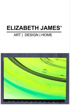 Add a little lime zest to your home with this vibrant abstract piece by Elizabeth James.  Life of Lime from the Colour in Motion series 120x80cm Limited Edition of 5 Signed & numbered with certificate of authenticity  Printed on demand for optimal presentation. Elizabeth And James, Authenticity, Certificate, My Design, Vibrant, Presentation, Lime, Colour, Printed