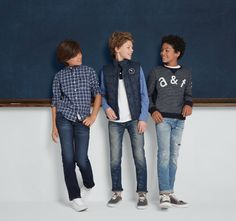 1) supersoft handfeel + 2) super stretchy fabric + 3) kid-friendly fit = the best jeans yet!
