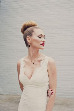 Top knot perfection #hair   Photography: khakibedfordweddings.com