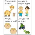 """Free!  Am & Are Questions Cards... practice using the words """"am"""" and """"are"""" correctly."""