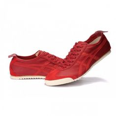 2012 Asics Onitsuka Tiger NIPPON MADE Lambskin Mens Shoes Red White