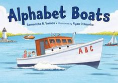"""Read """"Alphabet Boats"""" by Samantha R. Vamos available from Rakuten Kobo. Set sail and learn the ABCs with a boat for each letter! Discover twenty-six types of vessels, from the more common--can. Upper And Lowercase Letters, Lower Case Letters, Kid Friendly Art, Rescue Puppies, Build Your Own Boat, Preschool Books, Text Features, Children's Picture Books, Early Literacy"""