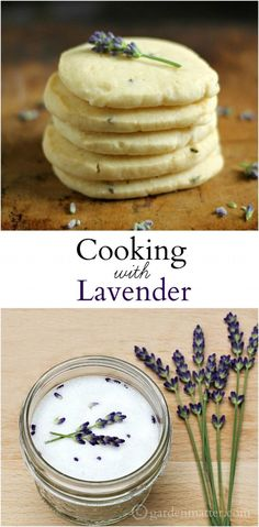 Learn ways to add lavender in your cooking. This subtle fragrant herb can be used in a variety of ways.  A popular pin from Garden Matter.