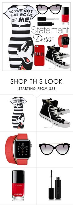 """Untitled #590"" by chanlee-luv ❤ liked on Polyvore featuring Converse, Hermès, Tom Ford, Chanel and Marc Jacobs"