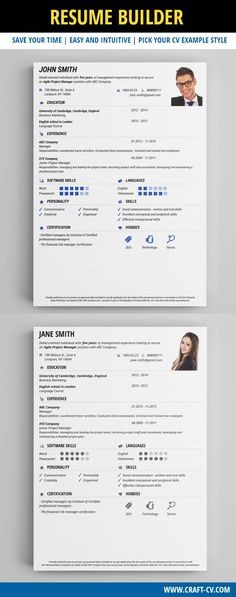 Best Seller - Perfect Resume Template for Any Job Position! Human - resume examples for retail